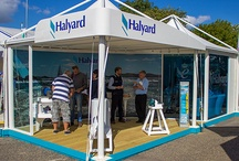 Exhibition Marquees / Creating an eyecatching external stand is what we do ...