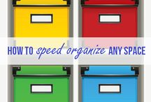 Organizing Tips and ideas / Tips and ideas for organising the home.