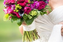 Bridal Bouquets by Floral V Designs / wedding bridal bouquet flowers