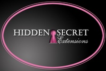 Hidden Secret Extensions & more! / Hidden Secret top quality hair extensions can be found at top salons in Florida and through Hiddensecretextensions.com.   / by Kristin Klein