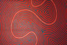 Aboriginal Art Patterns / Amazing patters and colours of Australian Aboriginal art. Inspiration from indigenous Australia.