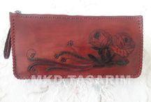 El İşi Deri Ürünlerim(My Handmade Leather Products) / Kadın Deri Cüzdanı