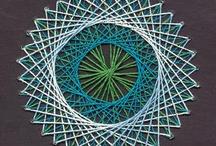 Stitching cards & string art / by Małgorzata Czyżewska