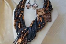 Шарф-ожерелье