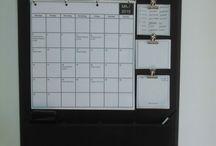 Kalender, anslagstavla etc
