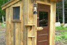 Utedass / Ideer til utedo på hytta