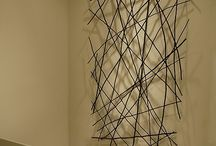 Twig Stick Leaves Art
