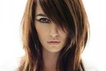 Hair styles / Peinados cabello mediano