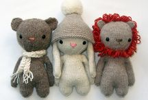 CDR - knitted animals