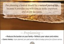 Preplanning a funeral