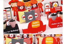 Fire fighter Party Ideas / Party ideas for your firefighter themed party.