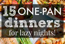 one pan dinner