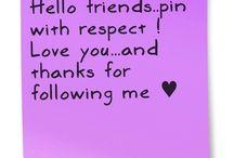 To my followers