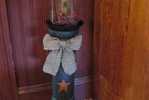 Primitive Country Decor / by Mable Yaeger
