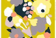 Patterns for home / Lovely illustrations and design patterns for home and home textiles