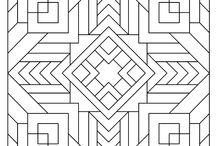 Geometriai színezők