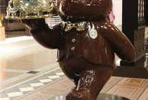 modelado de chocolate