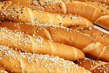 domácí rohlíky a chleby
