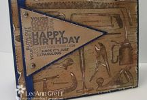 Masculine Handmade Cards / Various handmade cards and all occasion cards