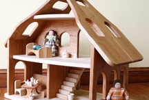 Cherry Wood doll house