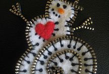 Zipper crafts / Items made from Zippers