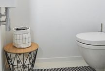 Small toilet room