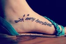 Fuß Tatto