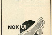 Nokian tuotteita vuosien varrelta