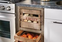Quirky Kitchen Storage