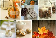 Fall Decor / Decor, crafts and snacks