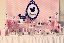 Girl Dessert Tables