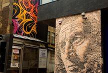 Mural Art / Street Art, Large Murals indoors or out