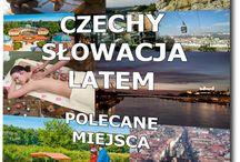 czechy isłowacja latem