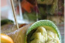 Roulés de zucchini aux artichauts
