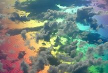clouds after the rainbow