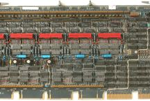 DEC H-222A Ferrite Core Memory / The H-222A ferrite core memory unit with capacity of 16K x 18 bits is originally from PDP-11 computer made by DEC.