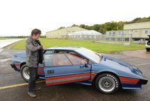 Hammond drives the icons: Lotus Esprit