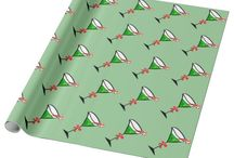 Holiday Giftwrap and Wrapping Paper / Custom gift wrap, these unique wrapping paper picks are perfect for packaging your presents and gifts.