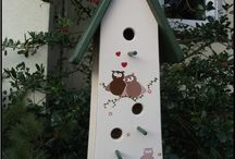 HOMES  FOR BIRDS / by Cora Lee Robinson