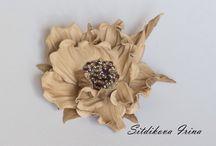 Цветы из кожи / Цветы из кожи flowers
