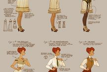 19th Century - Clothing & Fashion Style / by Adventures in History and Culture