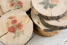 Wood Slices and Reclaimed Wood Log Craft Ideas