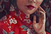 Women / Elisa's artworks