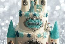 Frozen Birthday Cake