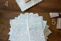 Papírból díszek...
