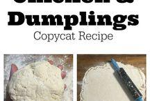 cracker barrel chicken and dumplings copy cat recipe