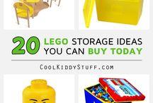 Lego Storage Ideas / Storage ideas for Lego which you can buy.