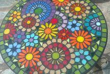 Mosaiquismo - Mesas y Sillas