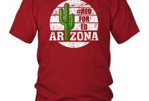 Vintage Red for Ed Arizona T Shirt