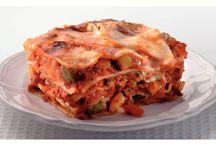 Lasagne en pasta  gerechten